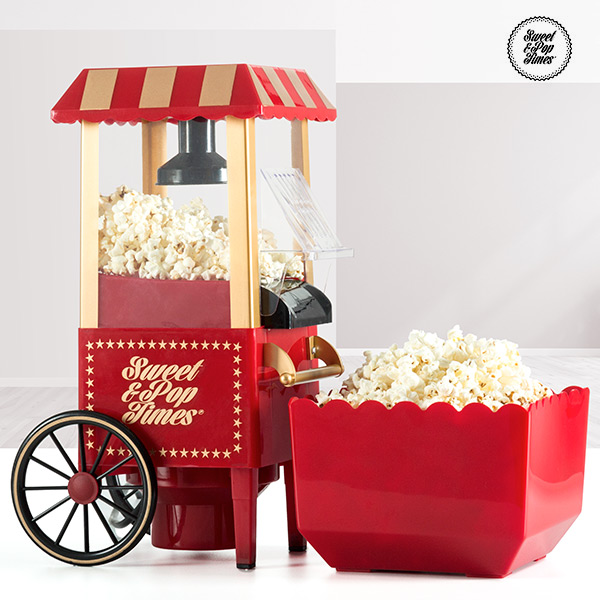 Popcorn Maker Appetitissime Sweet & Pop 1200W Red