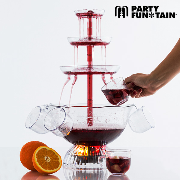 Party Fun Tain Illuminated Cocktail Fountain