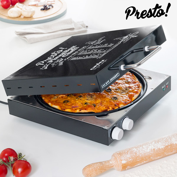 Pizza Maker Appetitissime Presto! 1200W Black