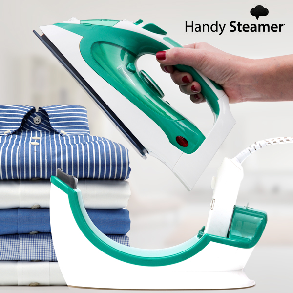 Cordless Steam Iron Omnidomo Handy Steamer Station 0,15 L 2200W Green White