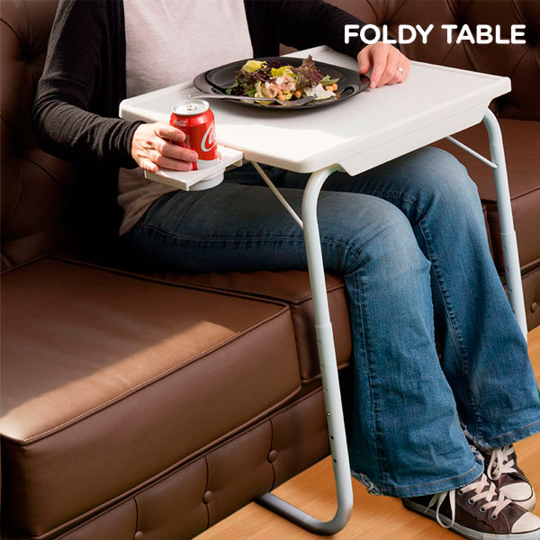 Foldy Table with Cup Holder