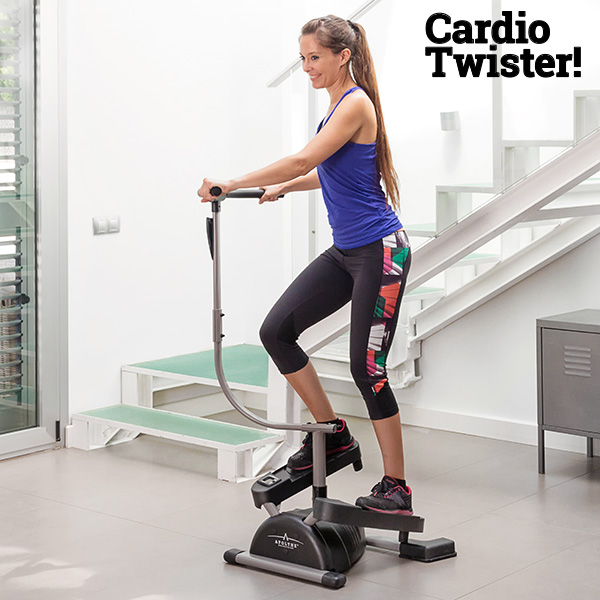 Cardio Twister! Swing Stepper