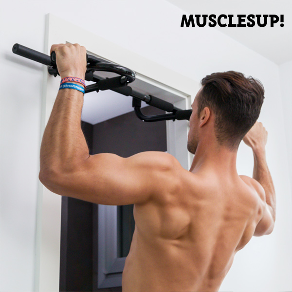Muscles Up! Pro Pull-up and Exercise Bar