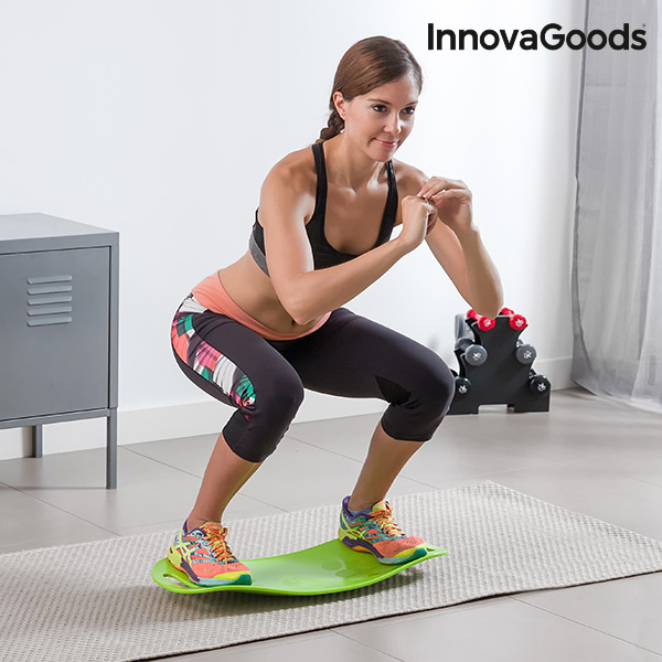 InnovaGoods Sport Fitness Balance Board with Workout Guide
