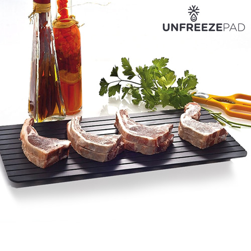 Unfreeze Pad Food Defrosting Tray