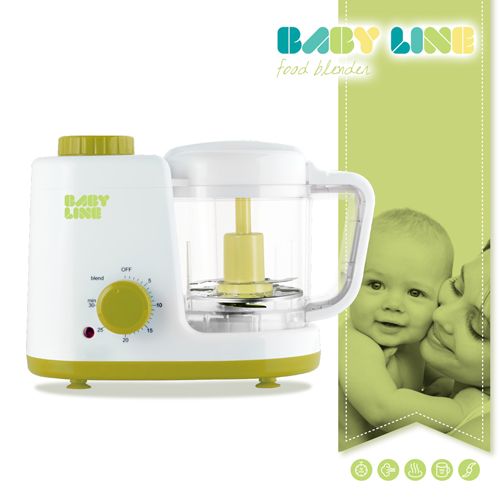 Mixer and Steamer Appetitissime Baby Line 0,5 L 150W White